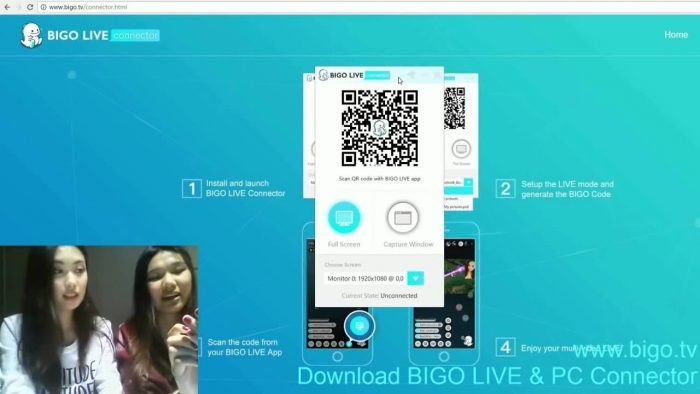 BIGO LIVE PC Using Andyroid